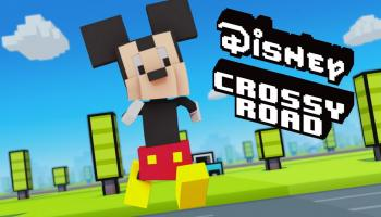 Взлом Disney Crossy Road на много денег