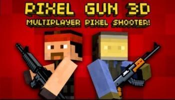 Взломанный Pixel Gun 3D